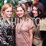 Rebecca Heslin, Marissa Mitrovich, Jaclyn Louis. Nigel Barker Book Party. Photo by Tony Powell. Eden. February 24, 2011