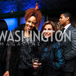 Krystal Ugo, Lynda Erkiletian. Nigel Barker Book Party. Photo by Tony Powell. Eden. February 24, 2011
