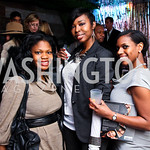 Dorothy Tene, Griffin Williams, D'Nai Walker. Nigel Barker Book Party. Photo by Tony Powell. Eden. February 24, 2011