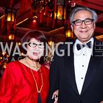 Jane and Chuan Liu. Photo by Tony Powell. Opera Ball. Embassy of China. May 7, 2011