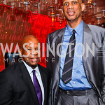 Rep. Elijah Cummings,  Kareem Abdul-Jabbar. Photo by Tony Powell. Kareem Abdul-Jabbar Private Dinner. June 6, 2011