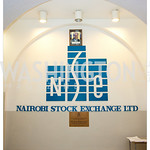Nairobi Stock Exchange. (Photo Anchyi Wei)