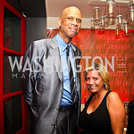 Kareem Abdul-Jabbar, Victoria Michael. Photo by Tony Powell. Kareem Abdul-Jabbar Private Dinner. June 6, 2011