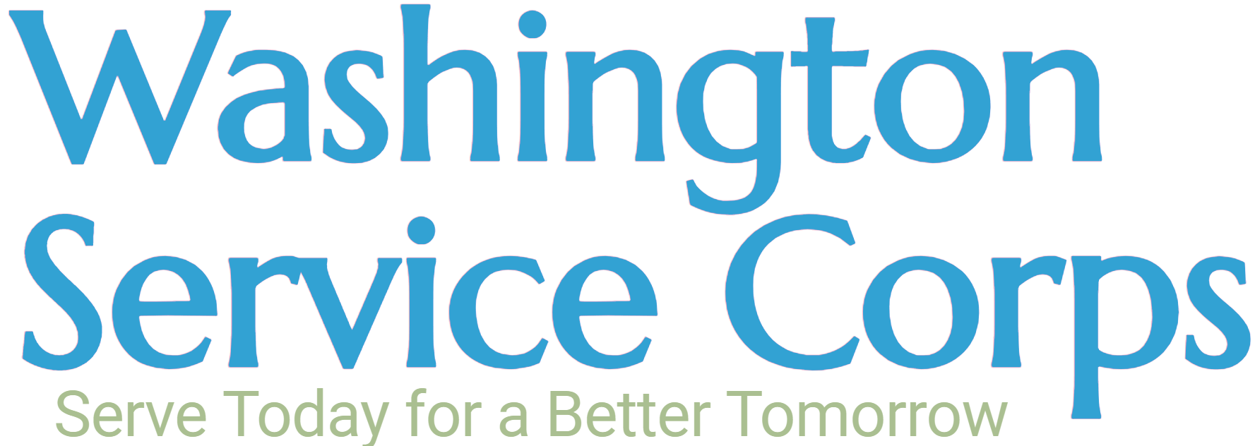 Washington Service Corps- Serve Today for a Better Tomorrow
