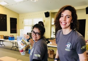 Washington Service Corps Trisha and Samantha serving with The Hunger Intervention Program in Seattle, WA