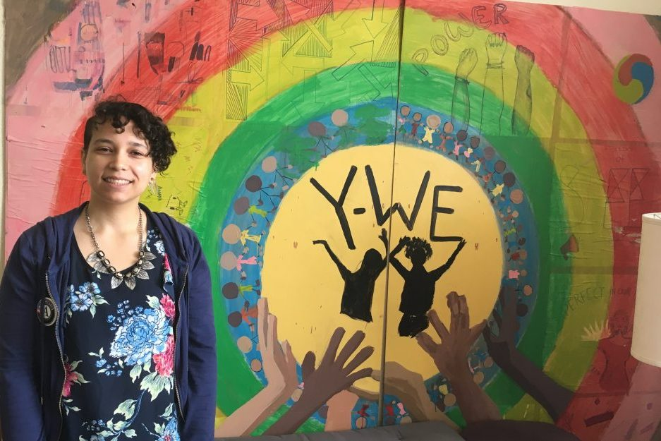 WSC Member Coral serving with Young Women Empowered in Seattle, WA