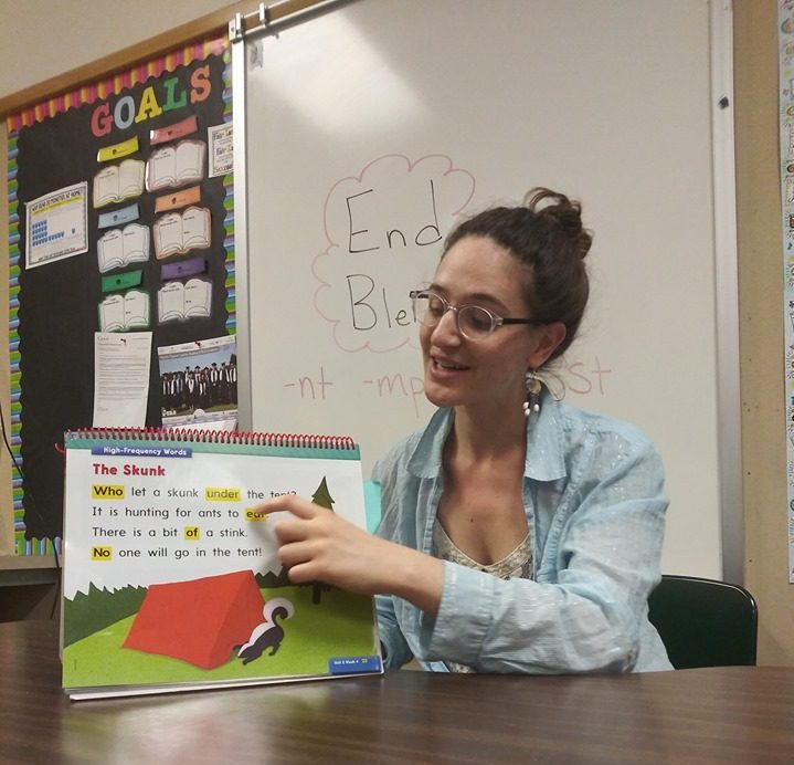 WRC member Kallia serving with Madison Elementary in Olympia