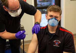 Inadequate Vaccination Of Firefighters And Police Personnel In Los Angeles Can Be A Threat To The Public Health