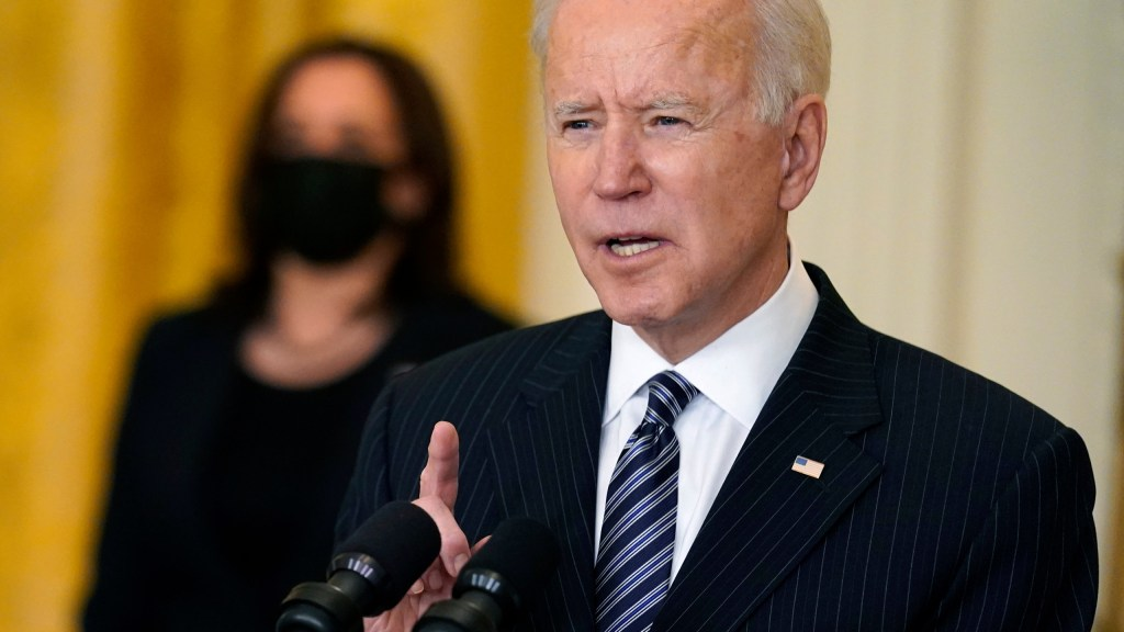 The Vaccination Goal Can Be Reached: President Biden
