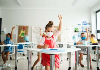 Children Will Are Given KN95 Masks In Utah, As The Delta Variant Has Fueled Covid-19 Hospitalizations Nationally