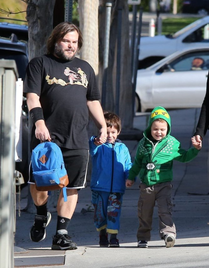 jack black and wife
