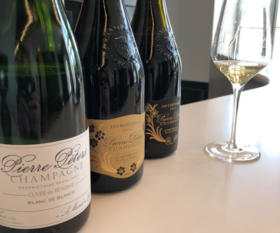 Pierre Peters champagne with Rodolphe Peters