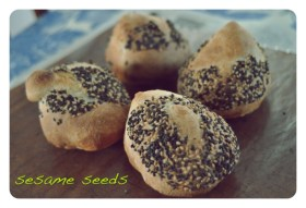Lots and lots of sesame seeds
