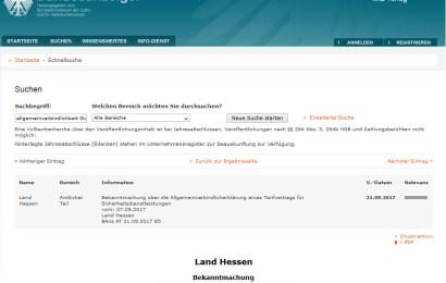 Tariflöhne in Hessen gelten für alle!