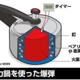 圧力鍋にパチンコ玉を入れて煮るとどうなるのか?爆薬が無ければ安全?