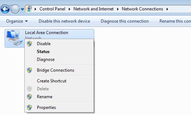reset network1