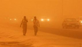 صحة واسط تسجل 72 حالة اختناق نتيجة العواصف الترابية التي ضربت المحافظة