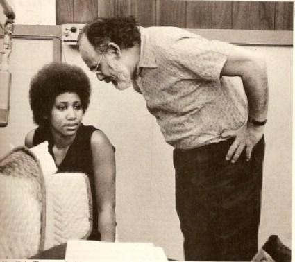 Jerry Wexler mit Aretha Franklin