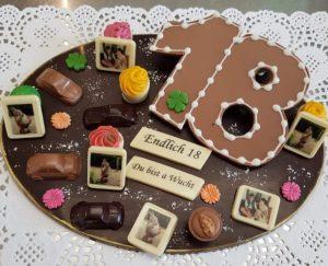 Personlisierte Schokolade
