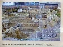 Ausgrabung des Steinbruchs