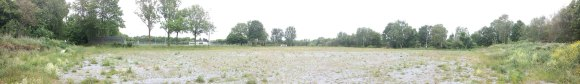 Inselbad: Panorama Schotterfläche