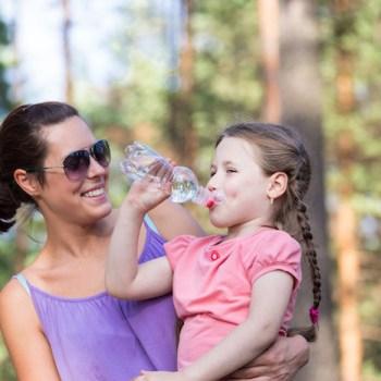 Gefiltertes Wasser für die Kleinen
