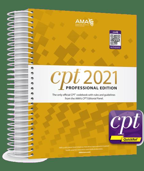 CPT® 2021 Professional Codebook & CPT QuickRef App Package