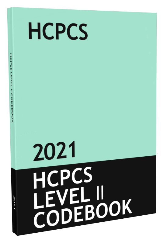 HCPCS Level II Code Book & Fee Guide Updated for 2021 ...