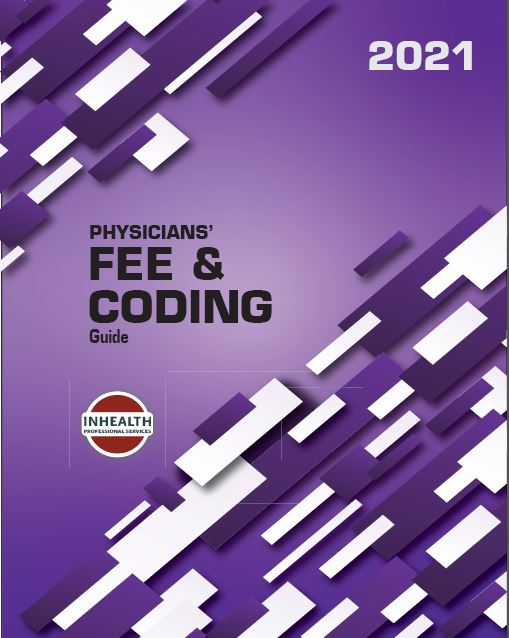 InHealth 2021 Physicians' Fee & Coding Guide - Spiralbound