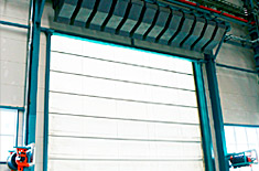 Garage Door Air Curtain