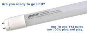 Pure Bright Light Tubes 100% Plug & Play