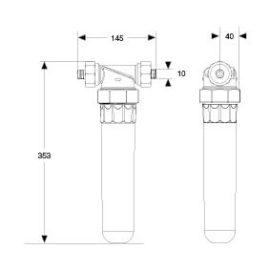 permaster sanus Trinkwasserfilter Wassershop Haustechnik und Accessoires