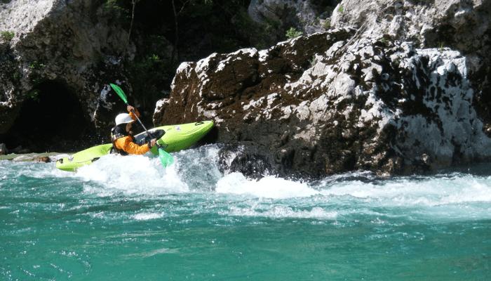 Wildwasser – Kurswoche Slowenien