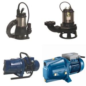 Pumpen, Filter und Regner