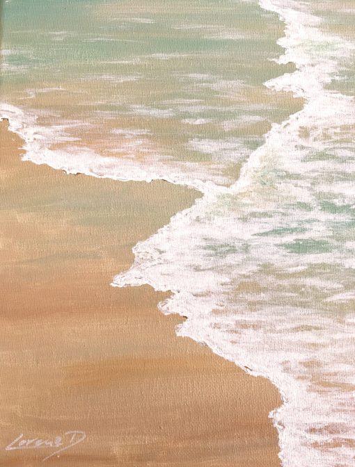 Beach Meer Strand gemalt
