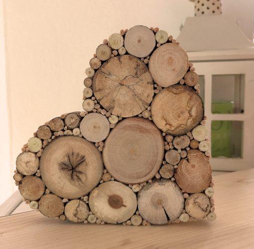 Herz Holz Hochzeitsgeschenk