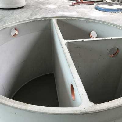 Dreikammergrube-Trennwände-Kläranlage