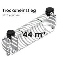 44 m³ Behälter mit Trockeneinstieg