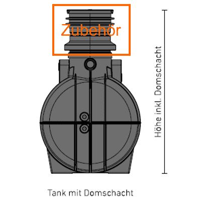 Speidel-Domschacht-Zubehör-Schachthalsverlängerung