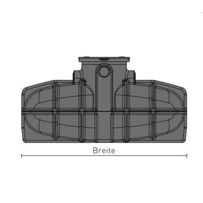 Einbauzeichnung-Speidel-Flachtank-frontansicht