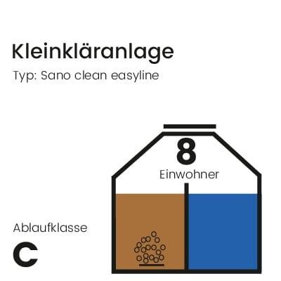 Kleinkläranlage-sano-clean-easyline-ablaufklasse-C-8EW
