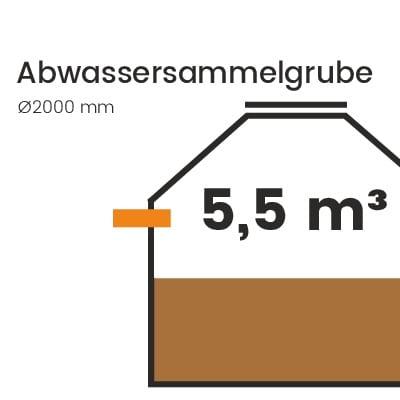 Abwassersammelgrube-5500l