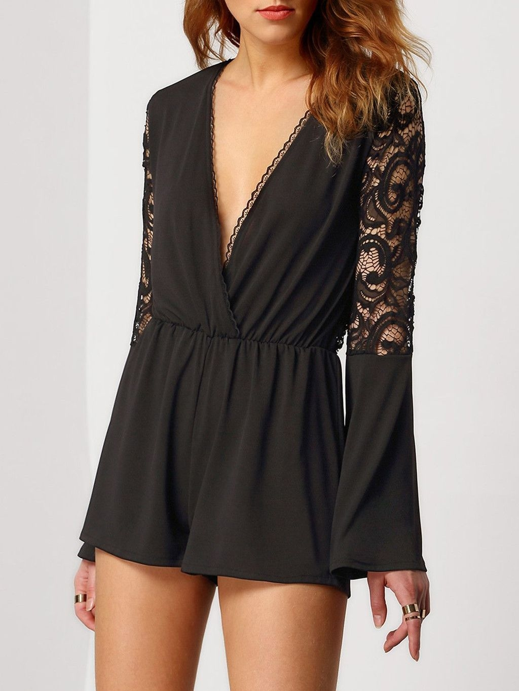 Adorable Black Romper Outfit Ideas