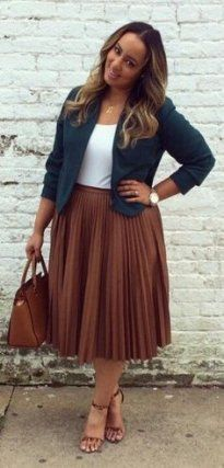 Trendy Summer Outfits Ideas For Plus Size Women