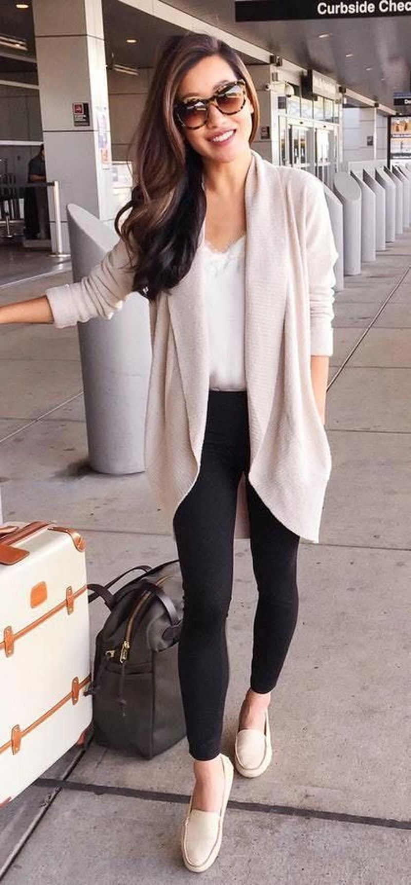 48 Classy Cardigan Outfits for Spring