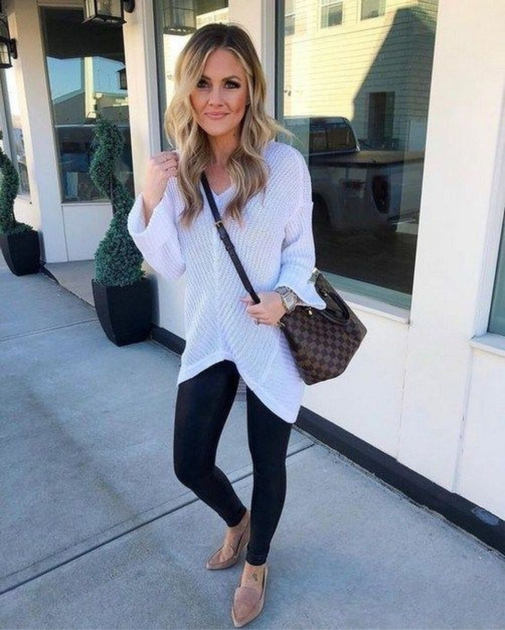 42 Inspiring Summer Outfits Ideas With Leggings To Try Quotes Picture