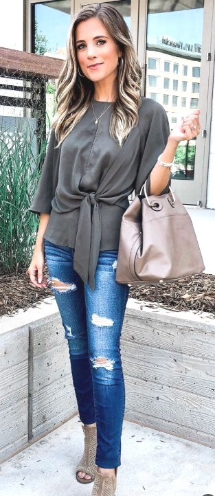 Casual Summer Outfits for Women Jeans