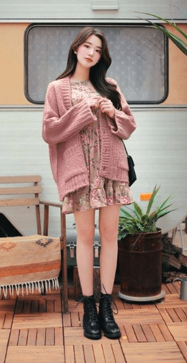 Korean Fall Outfits for Street Style