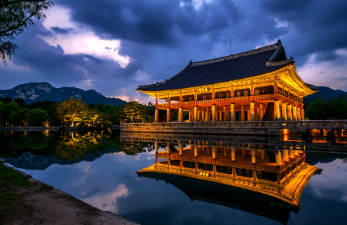Do you wanna see night view in Gyeongbokgung-Palace(경복궁) ?