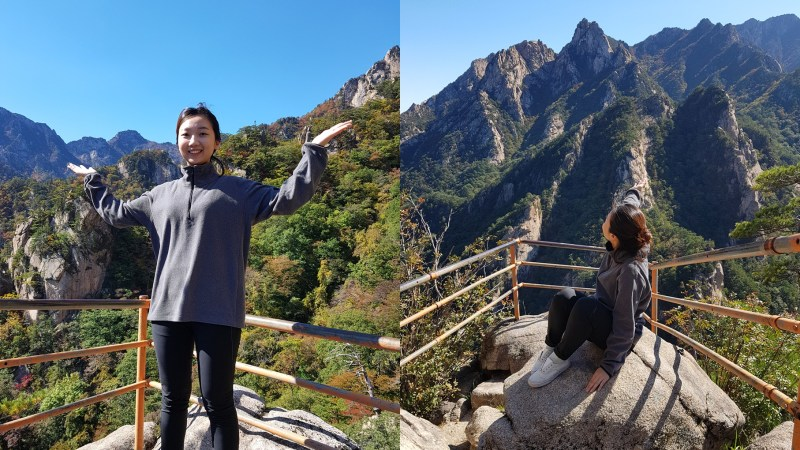 Feel the nature in the Seoraksan Mountain!(설악산 국립공원)